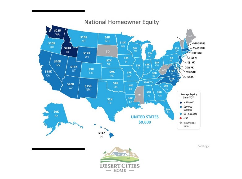 National Homeowner Equity Map