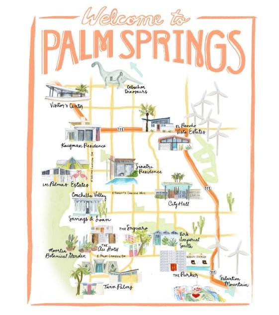 Palm SPring MAps