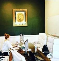 Mini office organized